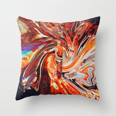 Toúla Throw Pillow