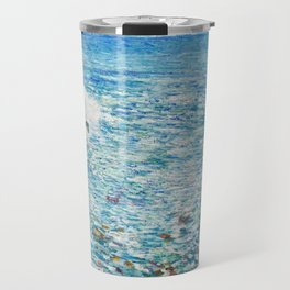 Surf, Isles of Shoals by Childe Hassam Travel Mug