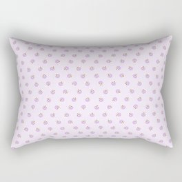 Dancing Fudge Sundaes in Purple Rectangular Pillow