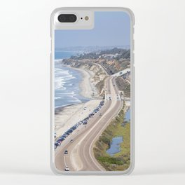 Pacific Coast Highway, California Clear iPhone Case