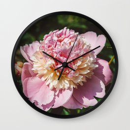 Manhattan Bloom II Wall Clock