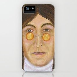 Singer JohnLennon iPhone Case