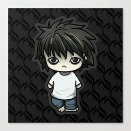 Death Note L Canvas Print