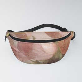 peach tulips Fanny Pack