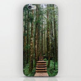 Forest Staircase iPhone Skin