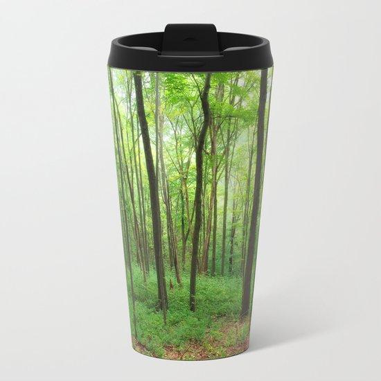 Forest 3 Metal Travel Mug