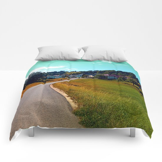 Country road, take me nowhere Comforters