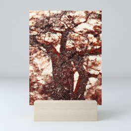 African Shadow Tree 1 Mini Art Print