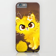 Yellow Cat iPhone 6s Slim Case