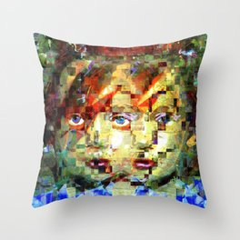 Friday 7 June 2013: Rigorously investigative collaborative exchanging. Throw Pillow