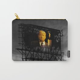 Trump Billboard Outside Blue Wave City .3 Carry-All Pouch