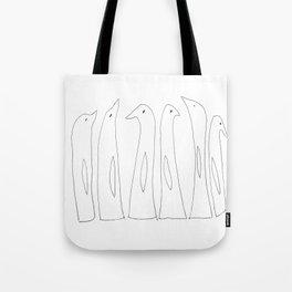 Penguins Tote Bag