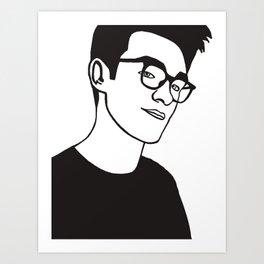 Moz Art Print