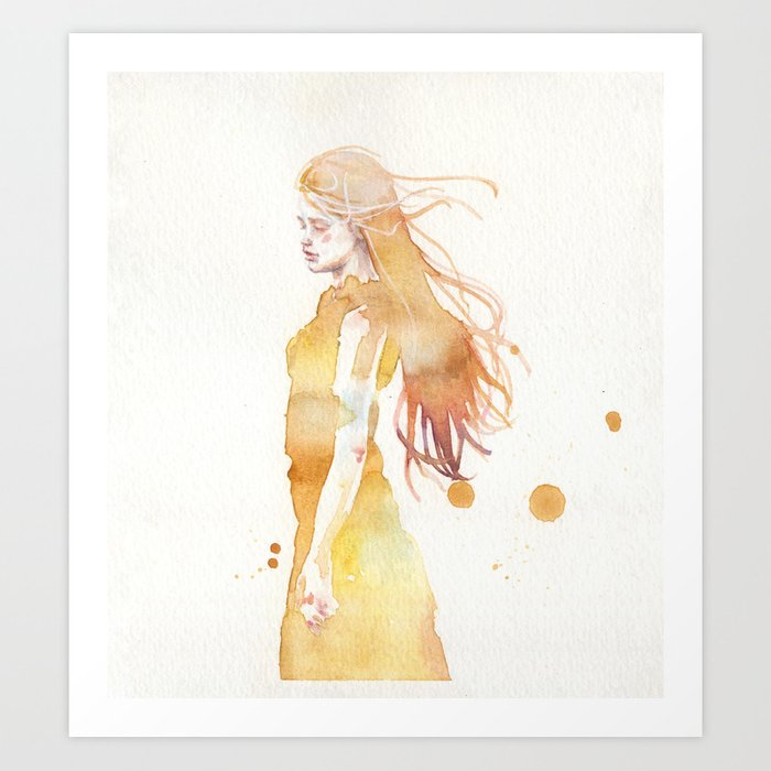 Discover the motif SMALL PIECE 50 by Agnes Cecile as a print at TOPPOSTER
