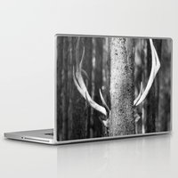 antler Laptop & iPad Skins featuring Antler Tree by J Witt Photography