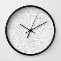 school Wall Clocks featuring School by Trenton