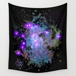 The Zodiac Sign -- Aquarius Wall Tapestry