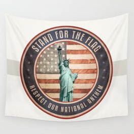 Stand For The Flag Wall Tapestry