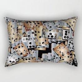 metal scraps Rectangular Pillow