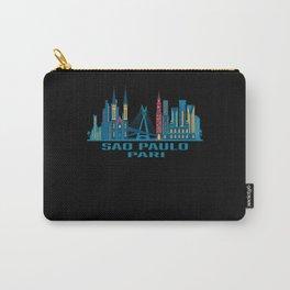 Sao Paulo Pari Brazil Skyline Carry-All Pouch