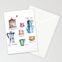 Coffee Time! Stationery Cards