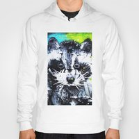 raccoon Hoodies featuring RACCOON by Maioriz Home