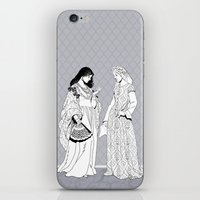 roman iPhone & iPod Skins featuring Roman Sisters by Tom Tierney Studios