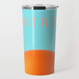 MONTREAL PASTEL Orange Julep Travel Mug