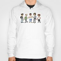 1d Hoodies featuring 1D Animated by pygmy