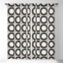 Die DDR Telefon Collage Blackout Curtain