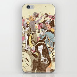The Great Horse Race! iPhone Skin