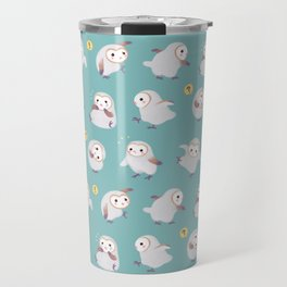 Baby Barn Owls Travel Mug