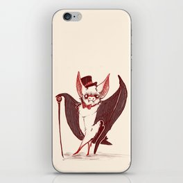 Bat Astaire iPhone Skin