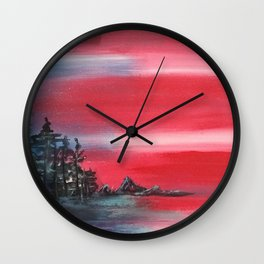 Proud Summit Wall Clock