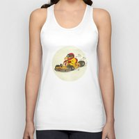 f1 Tank Tops featuring F1 by Pepan