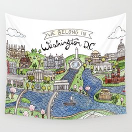Washington DC Wall Tapestry
