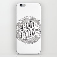 bon iver iPhone & iPod Skins featuring Bon Iver  by Infinity Arrows