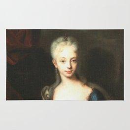 Maria Theresa before She Was Empress  Rug