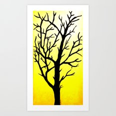 Desert Tree Art Print