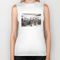 band Biker Tanks featuring Rock Band by Orbon Alija