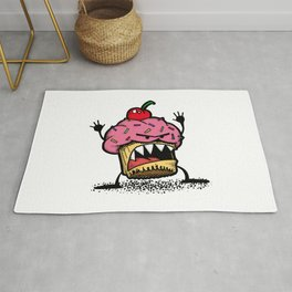 Cupcake Monster Rug