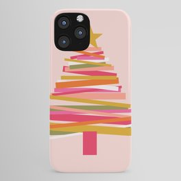 Ribbon Christmas Tree - candy iPhone Case