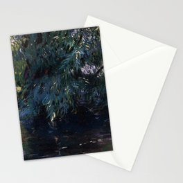 The Classical Masterpiece: A Backwater, Calcot Mill near Reading, John Singer Sargent, 1888888 Stationery Cards