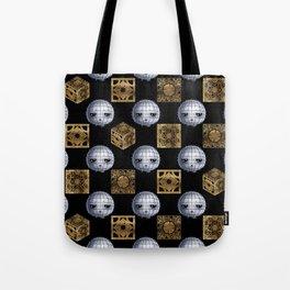Chibi Pinhead & Puzzle Boxes Tote Bag
