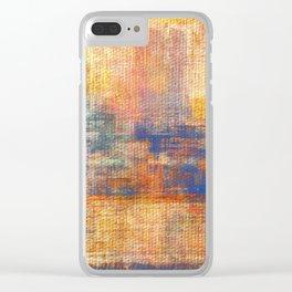 Dawn Yellowish Clear iPhone Case