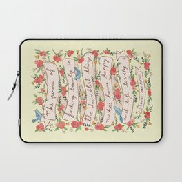 The humblest things Laptop Sleeve
