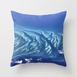 Caribbean Waters Throw Pillow