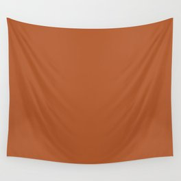 Copper #B2592D Wall Tapestry
