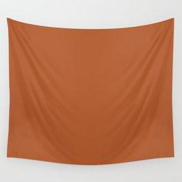 Copper #B2592D Wall Tapestry