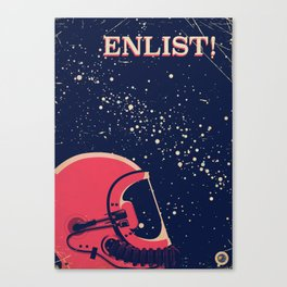 enlist! Canvas Print